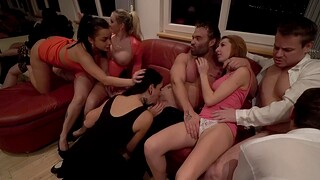 Jarushka Ross added to her bisexual entourage having fun with forever other