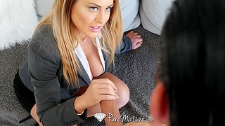 Seduced and fucked by gender awesome cougar stepmom Corinna Blake