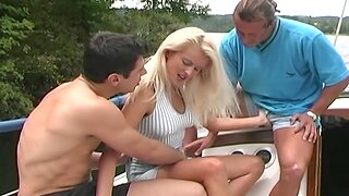 Boat Ride Anal Fuck With Horny Hot Kermis