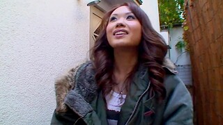 Loved Japanese brunette being dicked nicely by her boyfriend - Luna